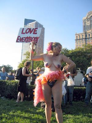 get naked and love everybody