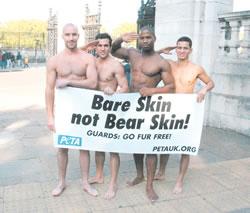 hunky naked PETA guys