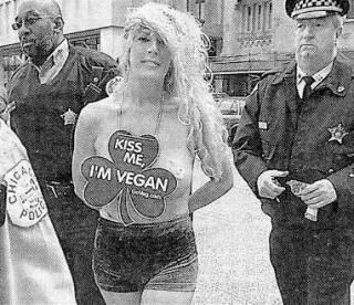 nude vegan girl needs a kiss