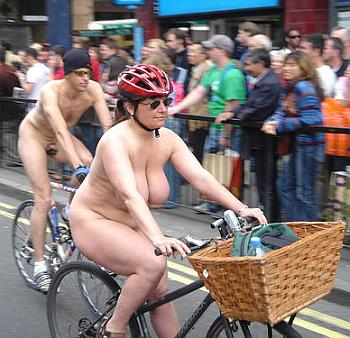 naked bike ride london