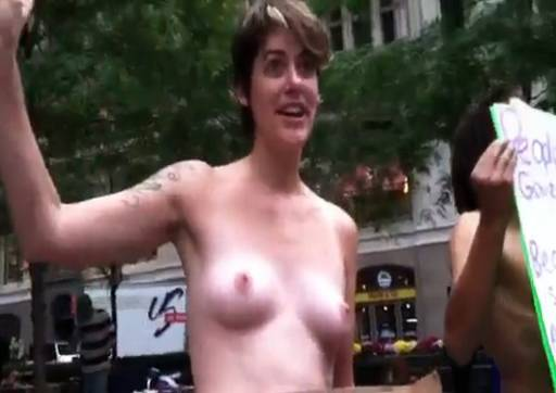 nude interview at Occupy Wall Street (OWS)